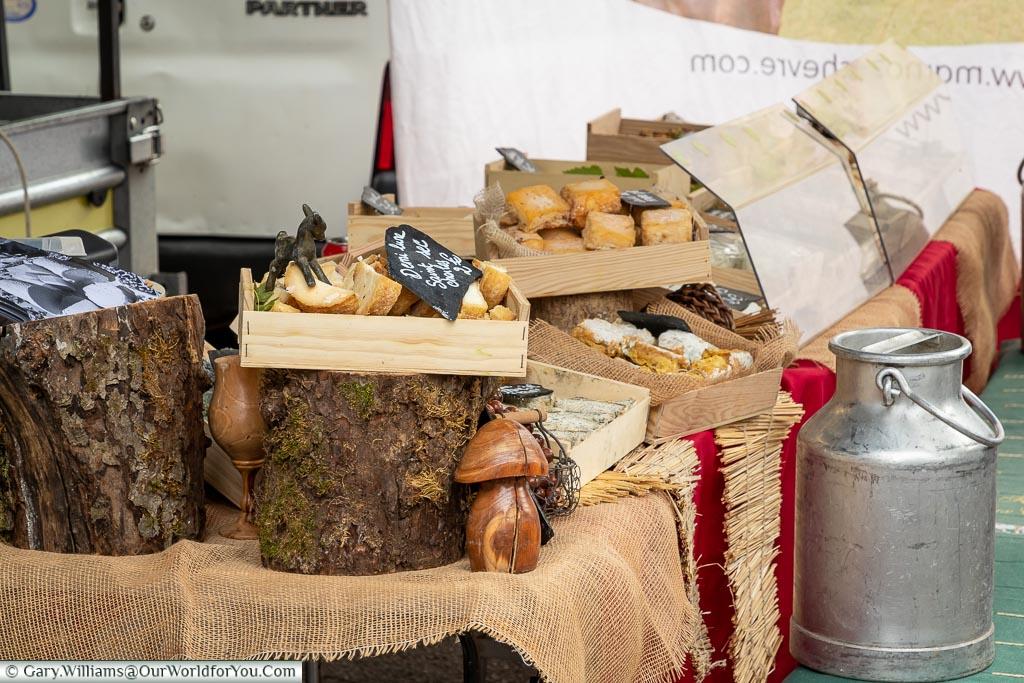Market day, Arbois, France