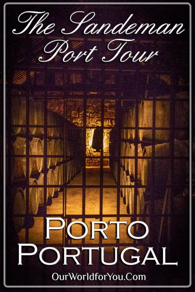 The Sandeman Port tour, Porto, Portugal