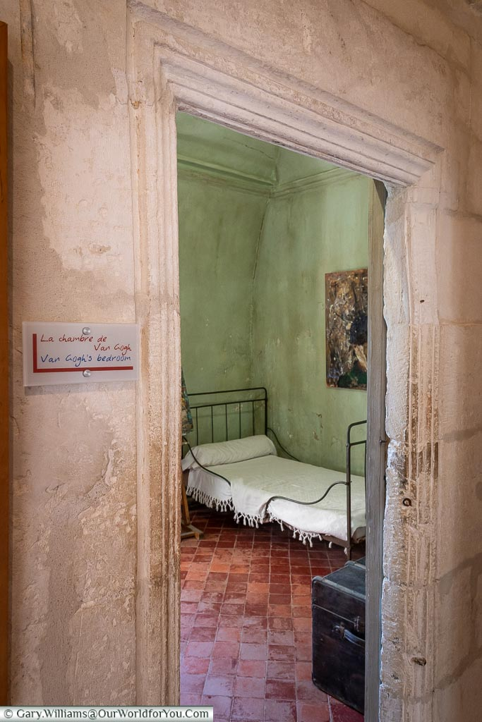 The doorway to bedroom, St Remy-de-Provence, France