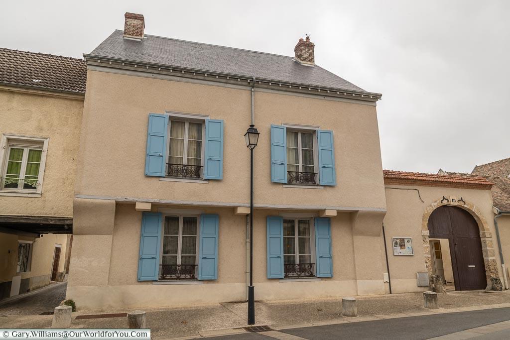 Charming homes, Ay, Champagne Region, France