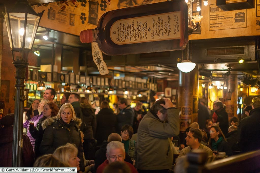 Inside Papa Joe's, Christmas Markets, Cologne, Germany
