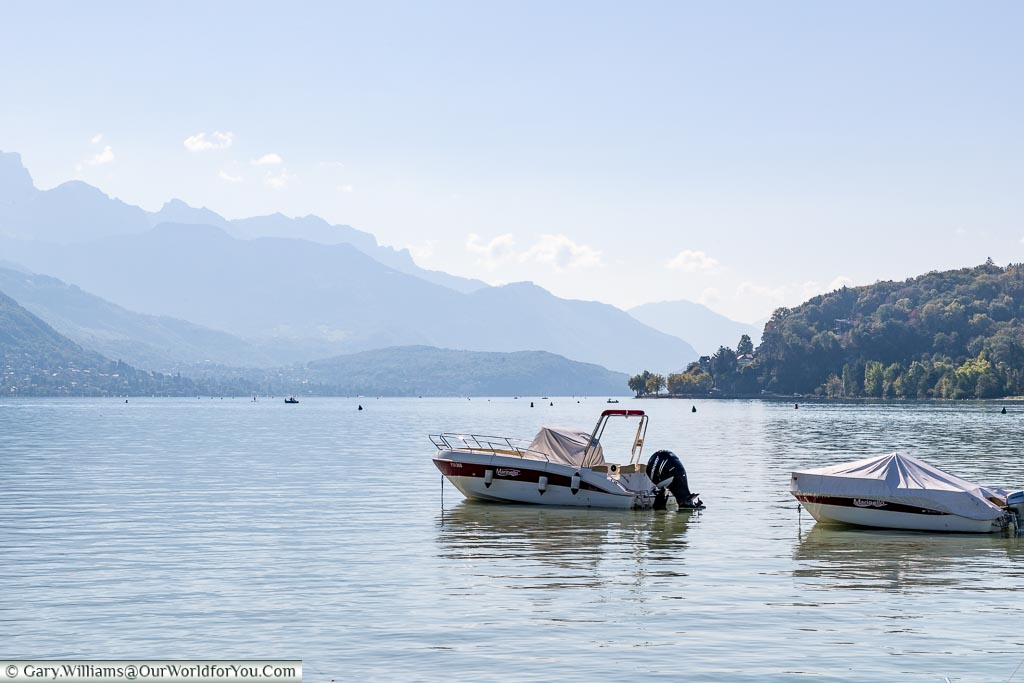 Moored on the Lake, Annecy, France