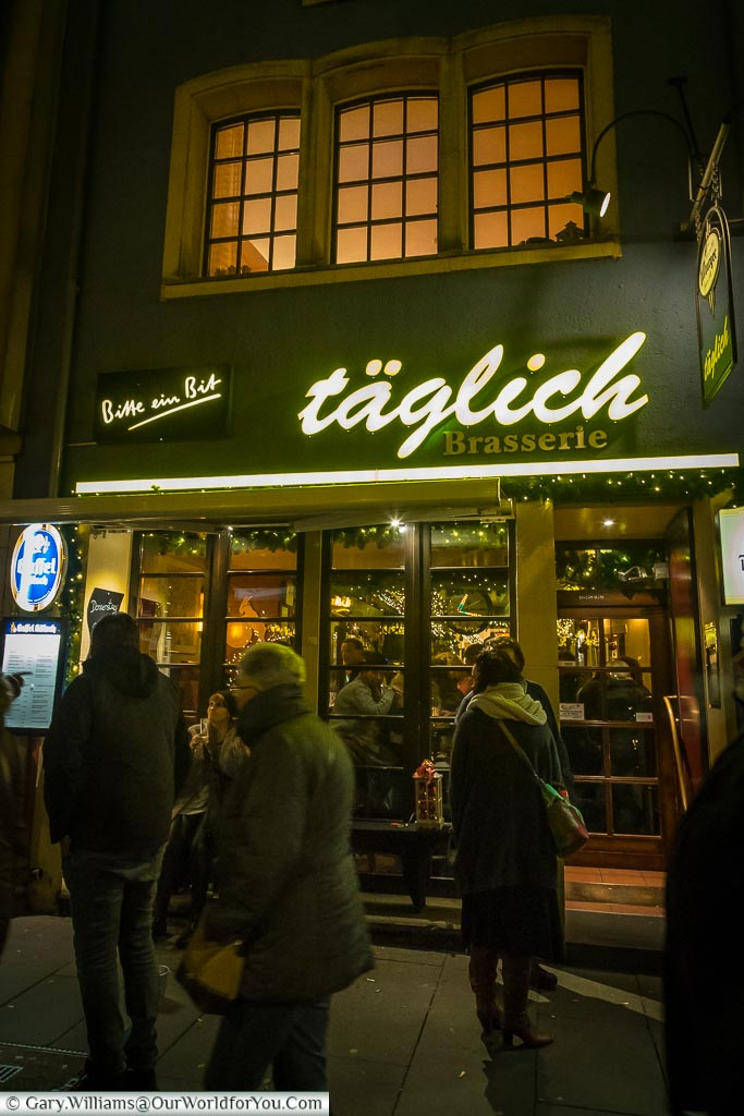 Täglich Brasserie, Cologne, Germany