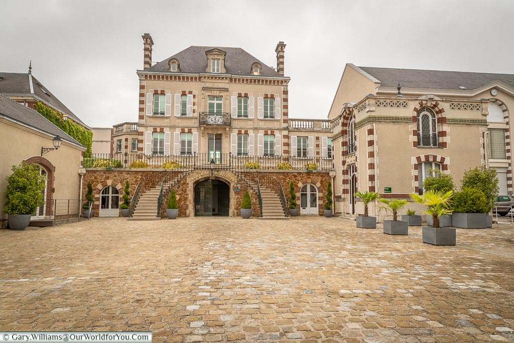 The Bollinger Domaine, Ay, Champagne Region, France