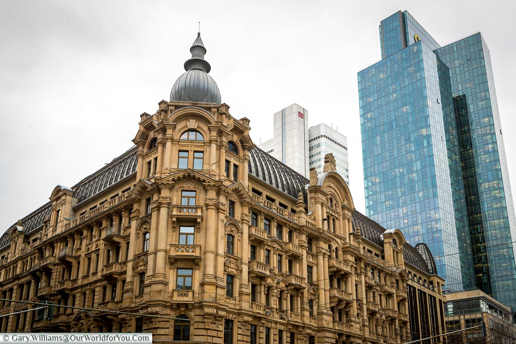 Old and New, Frankfurt, Germany