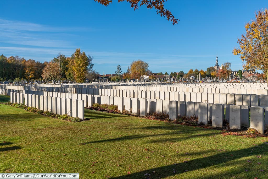 The Bailleul Communal Cemetery Extension, Nord, France