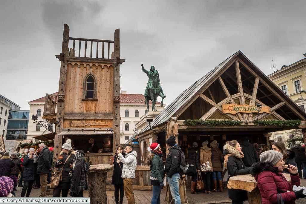 The Medieval Market, Munich, Germany