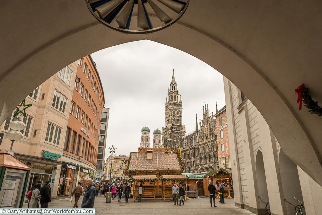 To the Christmans Market, Munich, Germany