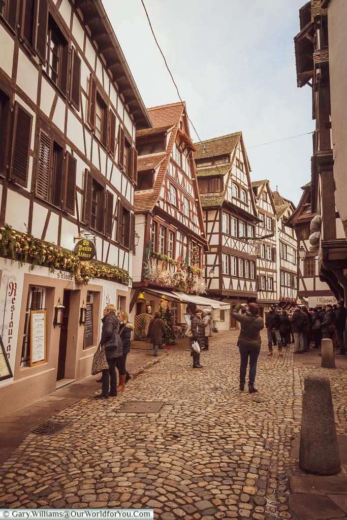 Wandering through Petite France, Strasbourg, France