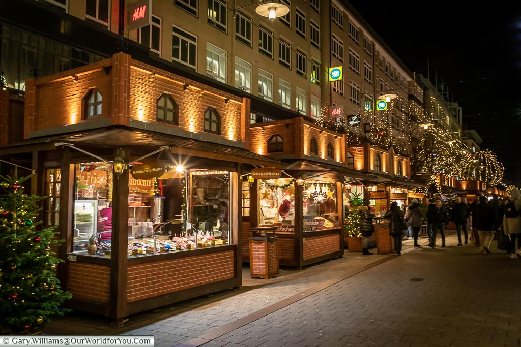 , Hamburg German Christmas Markets, Germany