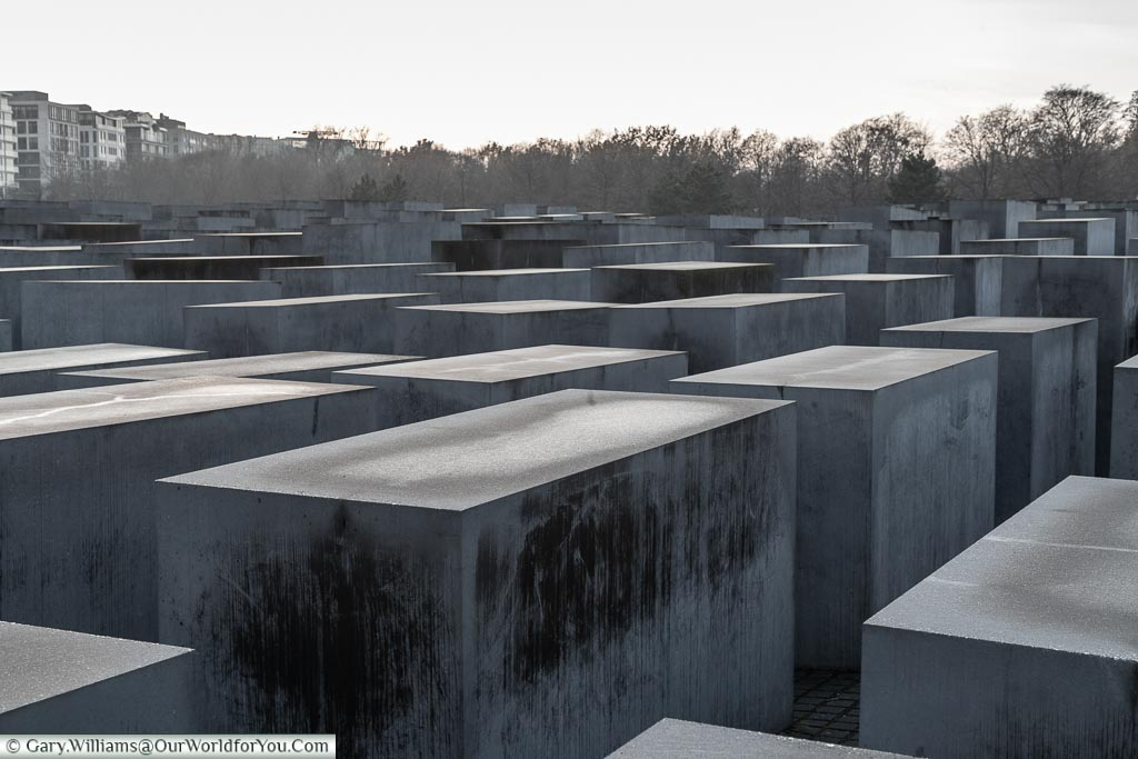 Memorial of the Murdered Jews of Europe, Berlin German Christmas Markets