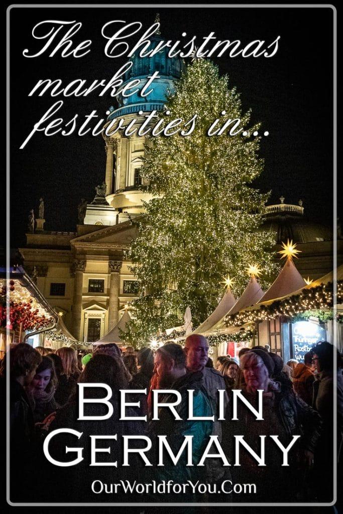 Christmas market festivities in Berlin