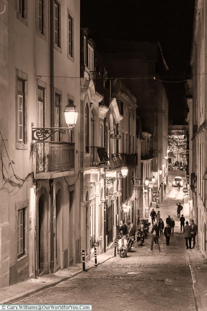 Amongst the lanes of Chiado, Lisbon. Portugal