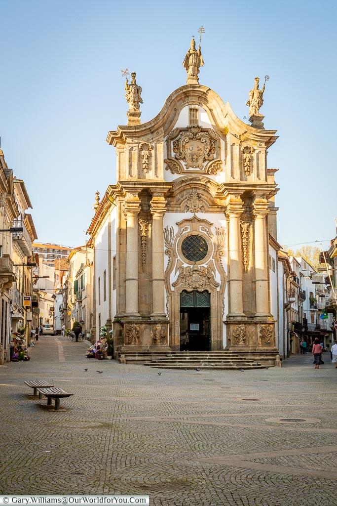 Capela Nova in Vila Real, Portugal