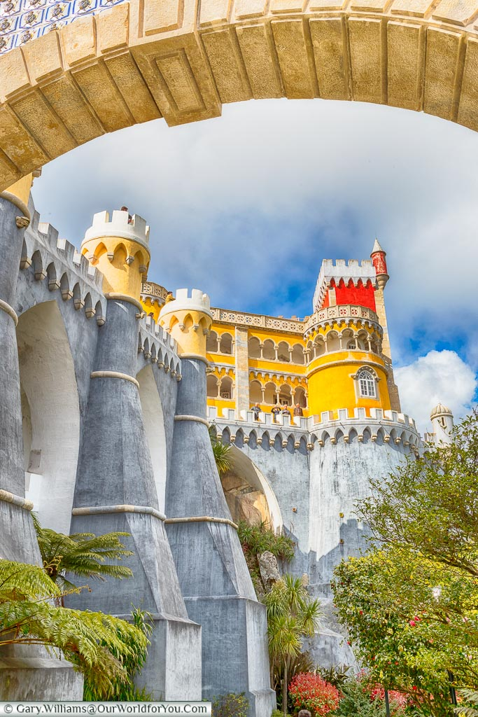 Framed - The Palace of Pena, Sintra, Portugal