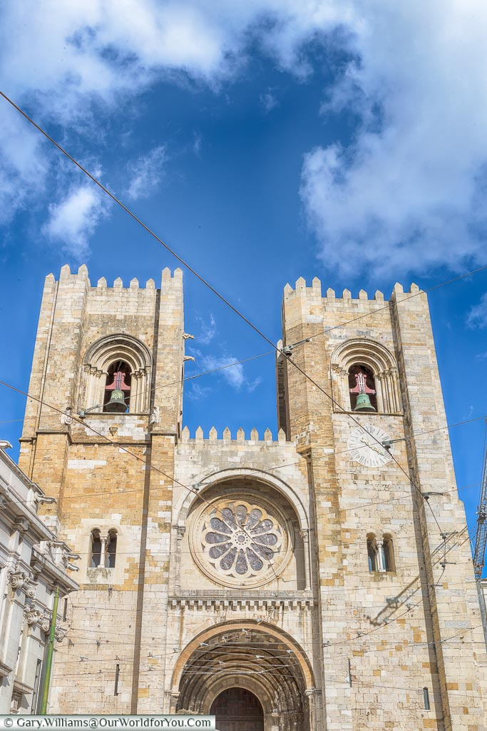 Sé Cathedral, Lisbon, Portugal