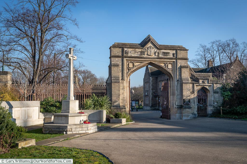 The entrance to West Norwood Cemetery, London