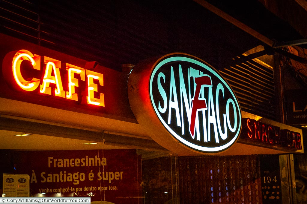 Café Santiago for  the best Francesinha, Porto, Portugal