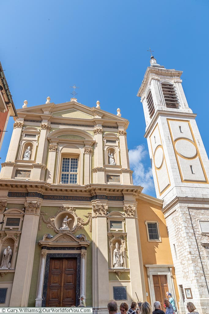 Cathedral of Saint Reparata, Nice, France