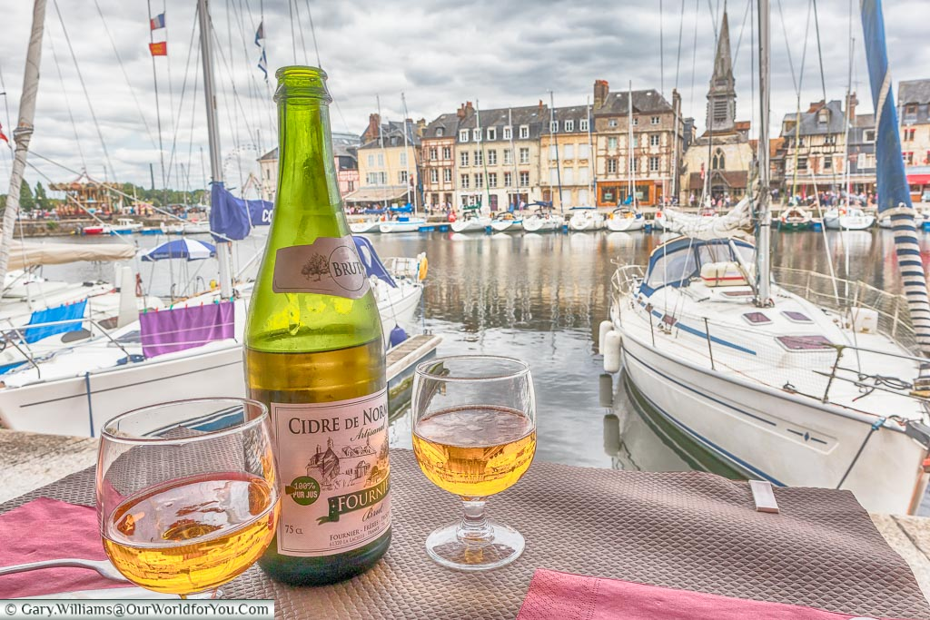 Cidre de Normandy, Honfleur, Normandy, France