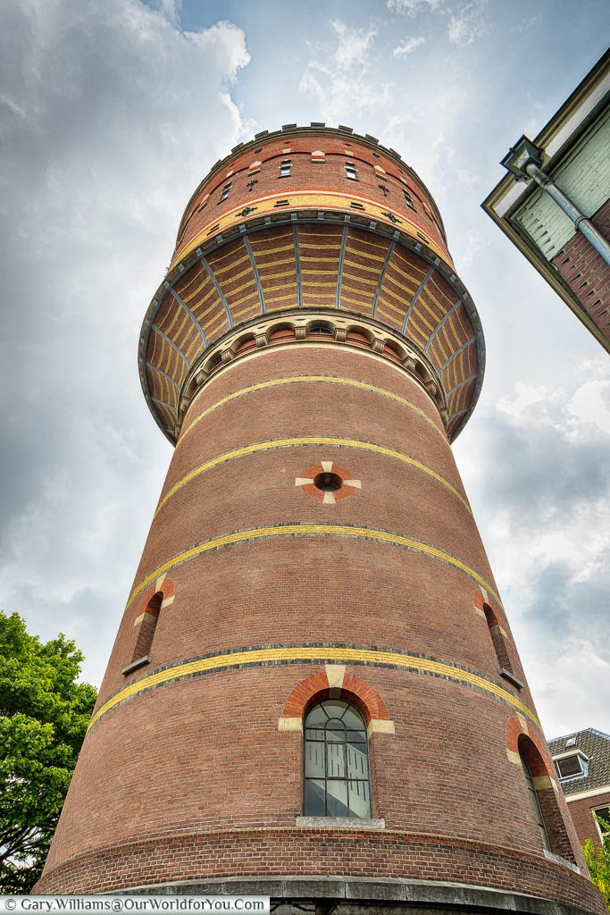 Lauwerhof Water tower, Utrecht, Holland, Netherlands