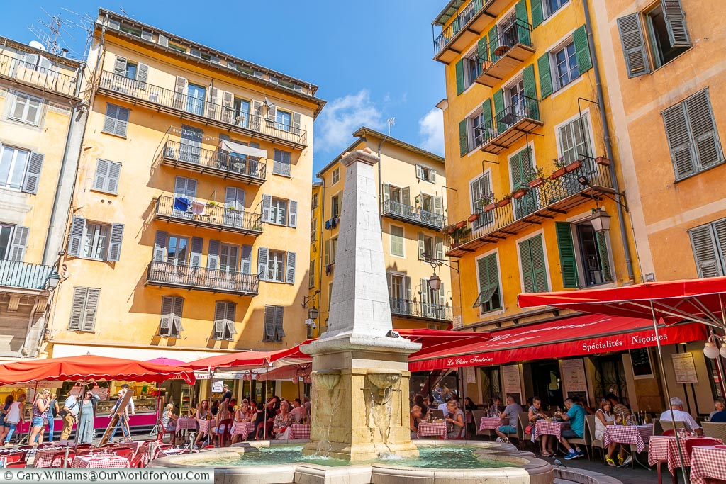 Place Rossetti, Nice, France