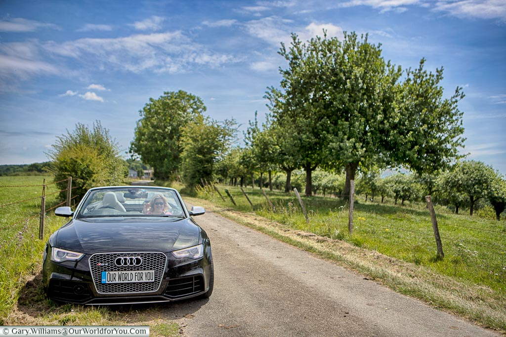 Roadtrippin' around Normandy in our Audi, France