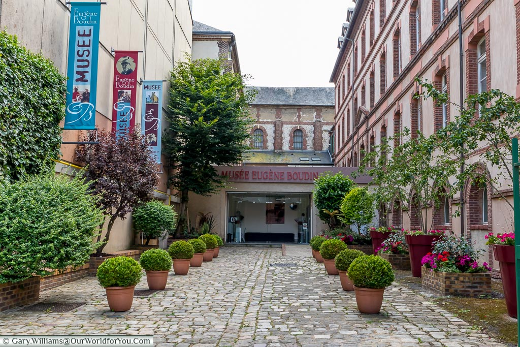 The Boudin Museum, Honfleur, Normandy, France