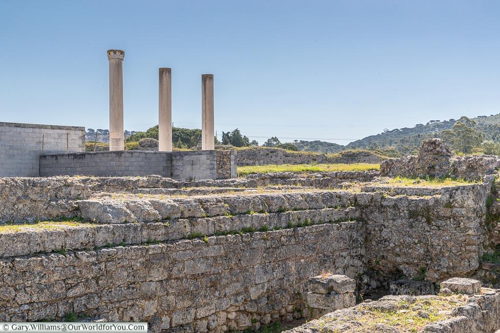The Forum, Conímbriga, Portugal