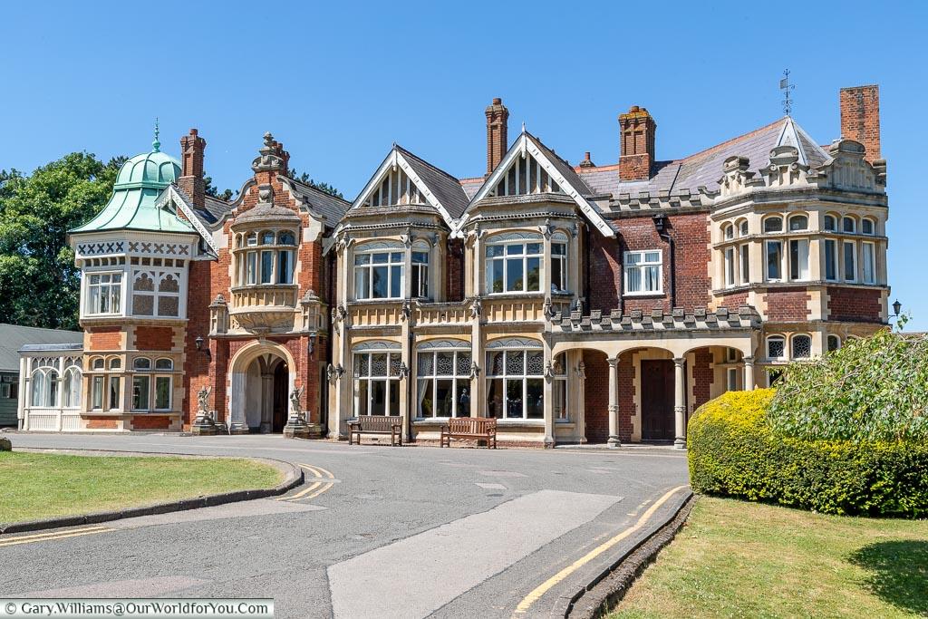 The Mansion, Bletchley Park, Buckinghamshire, England, UK