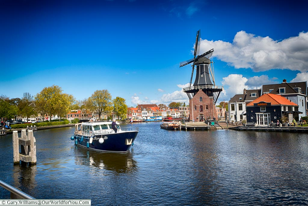 The Windmill De Adriaan, Haarlem, Holland, Netherlands