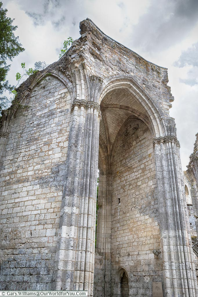 The remaining chapel, Jumieges Abbey, Normandy, France