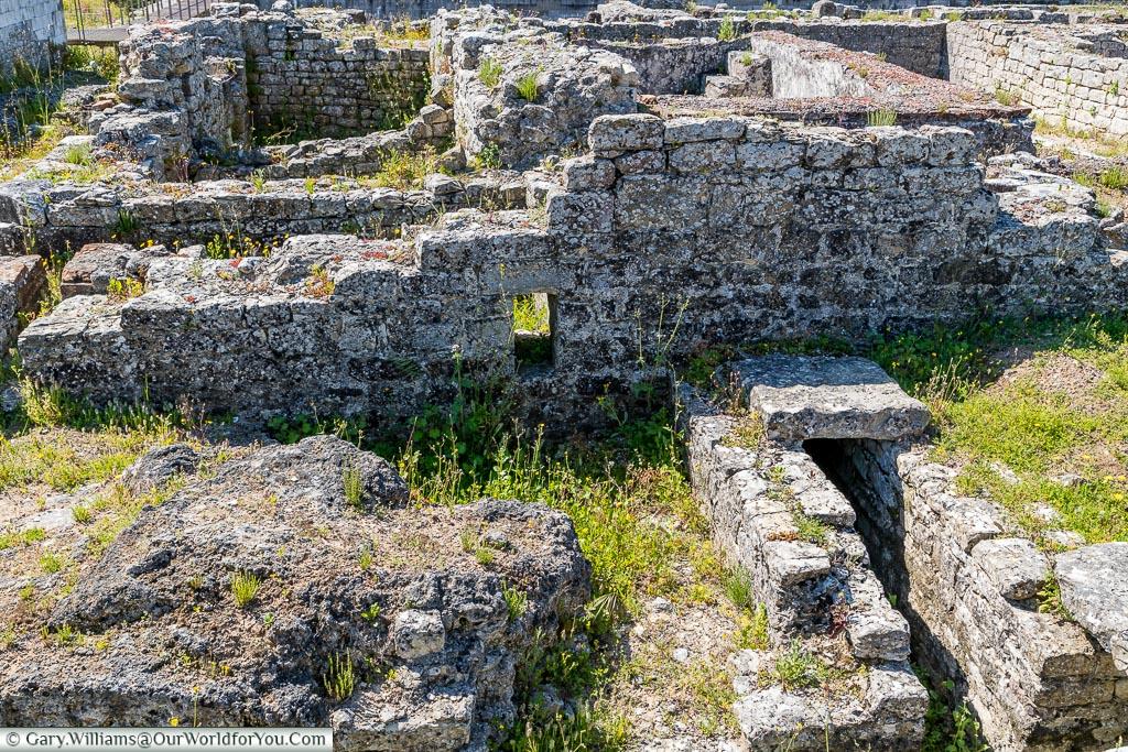The ruins of  Conímbriga, Portugal
