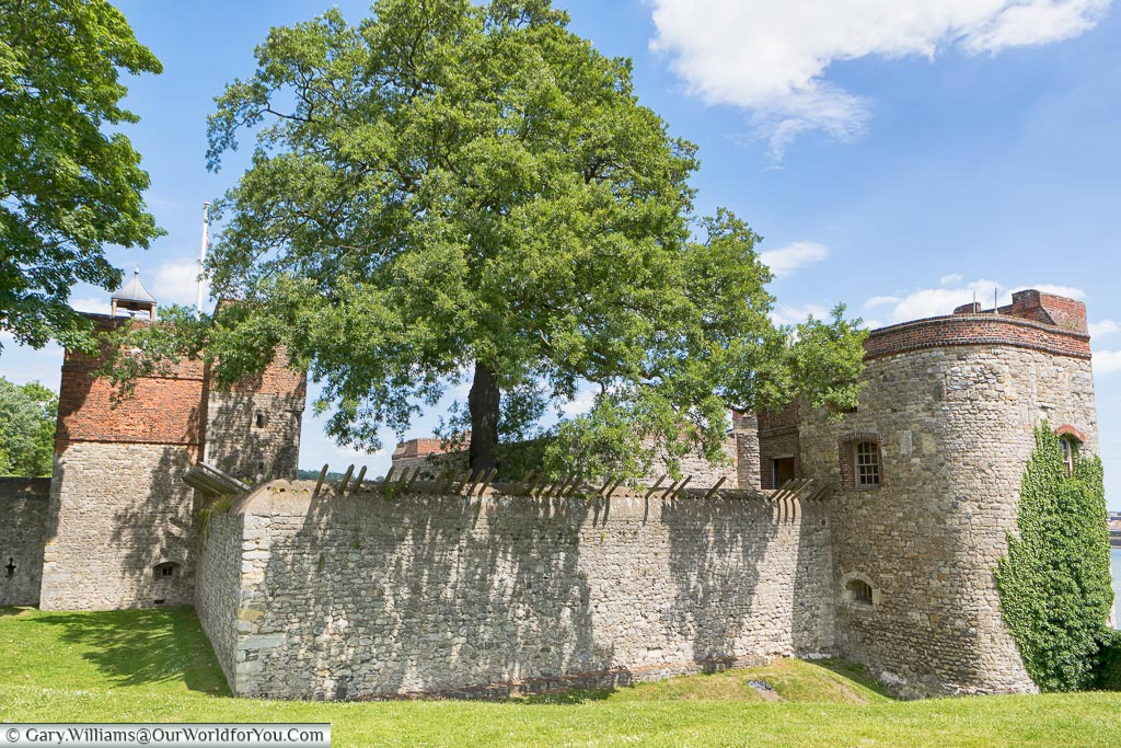 Upnor Castle, Upnor, Kent, England, UK