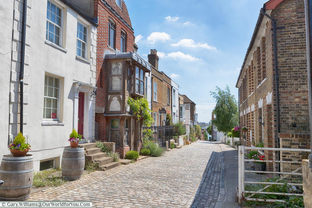 Upnor High Street, Kent, England, UK
