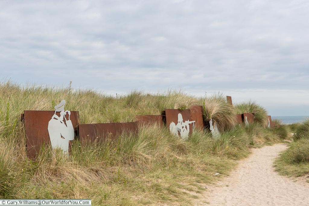 Waiting the attack, Juno Beach, Normandy, France