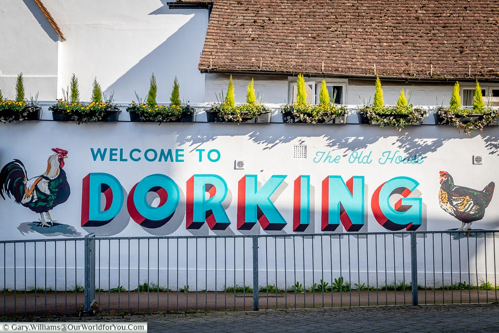 Welcome to Dorking, Surrey, England, UK