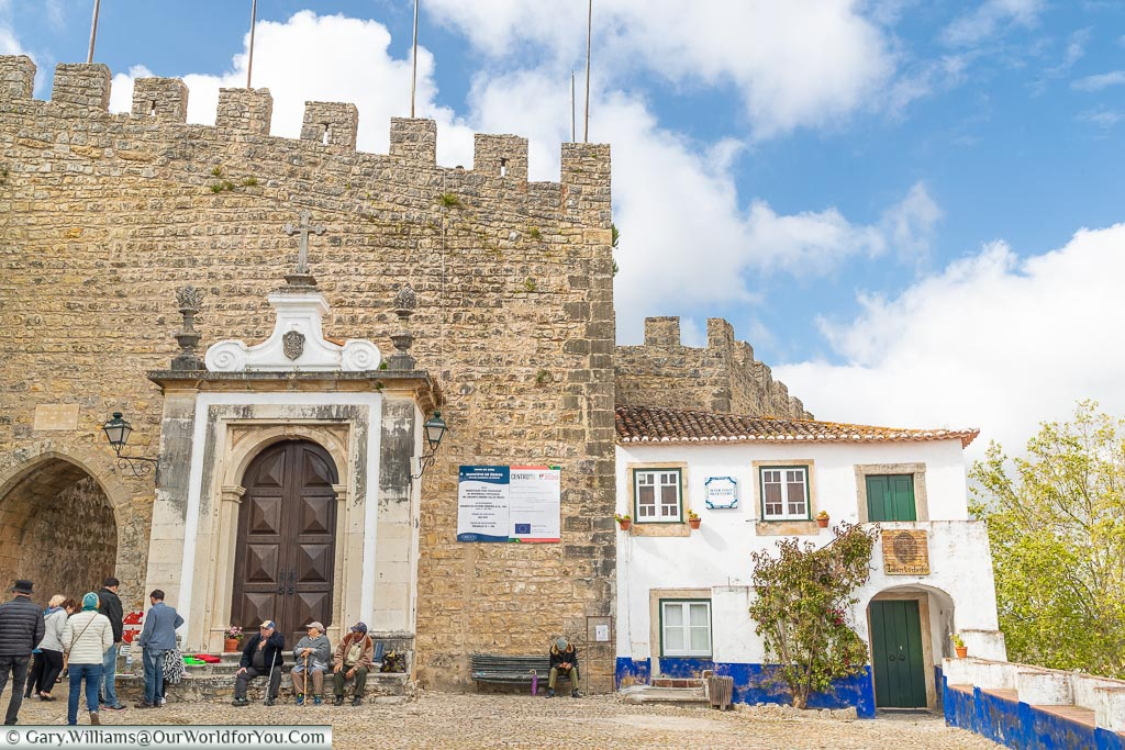 The City Gate, Óbidos, Portugal