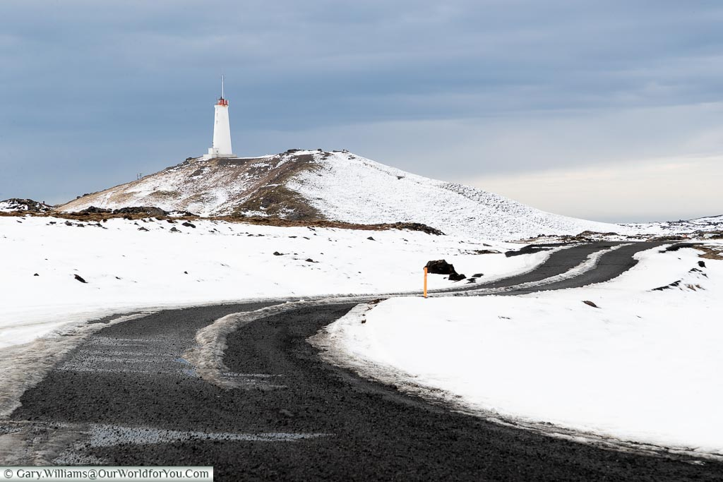 The start of the journey - Reykjanes Lighthouse in the south-west, Driving in Iceland