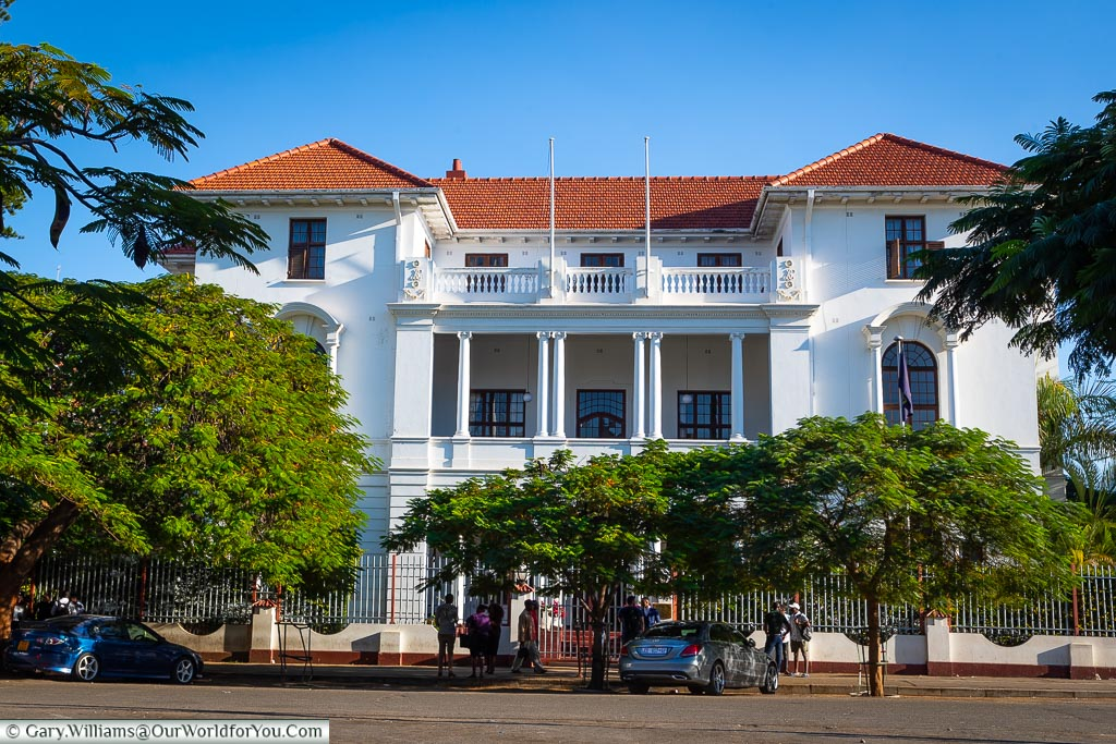 The Bulawayo Club, Bulawayo, Zimbabwe, Africa