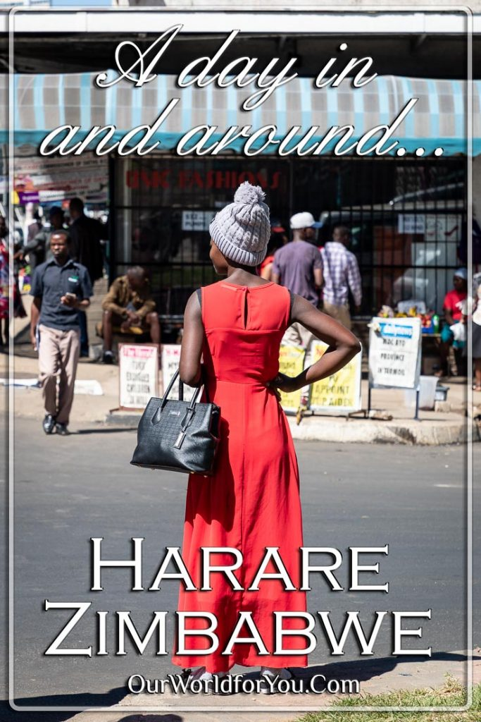 A Pin image of our post - 'A day in and around Harare, Zimbabwe'