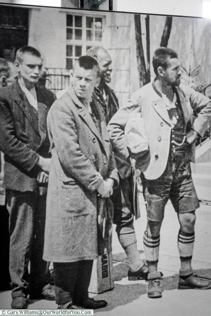 Prisoners waiting in Dachau, Dachau Concentration Camp Memorial Site, Visiting Bavaria, Visit Germany