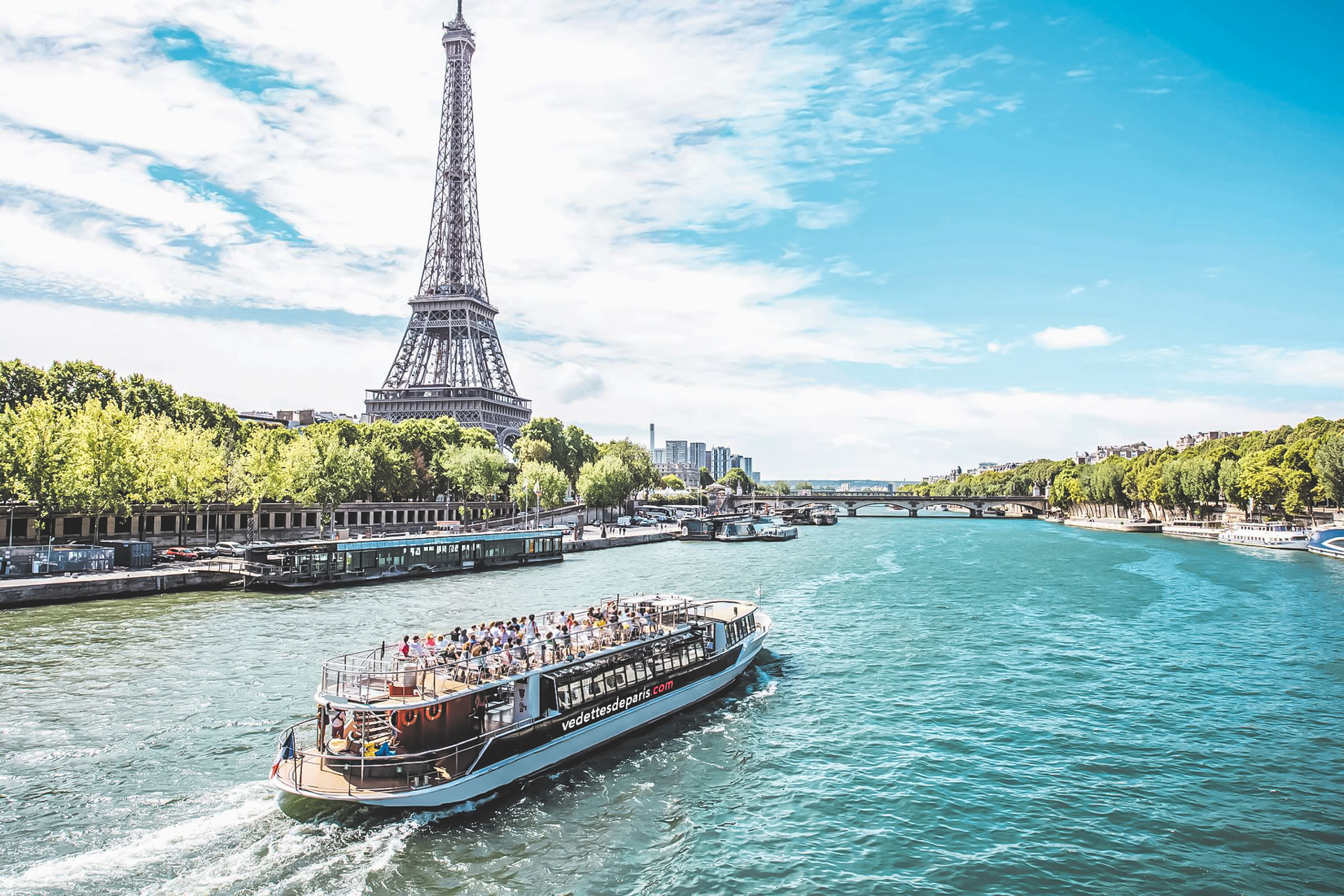 Paris with Seine River Cruise - Our World Travel Selfies