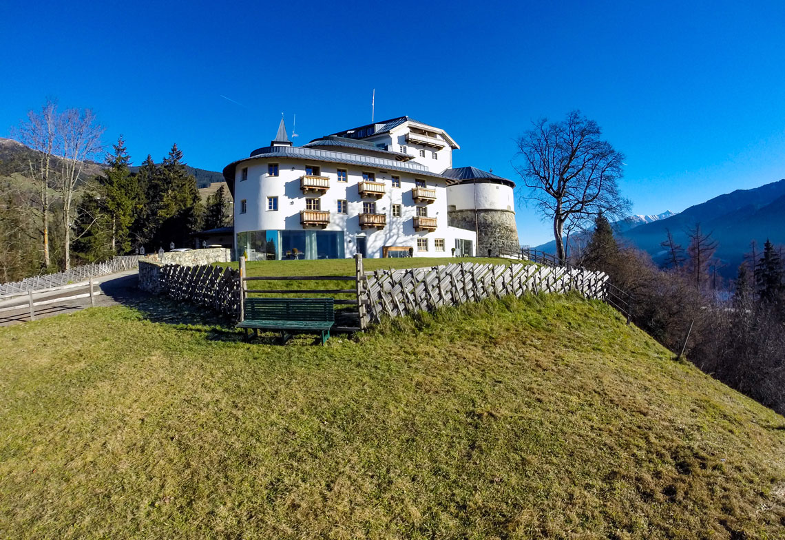 Checking in: Schloss Mittersill Austria