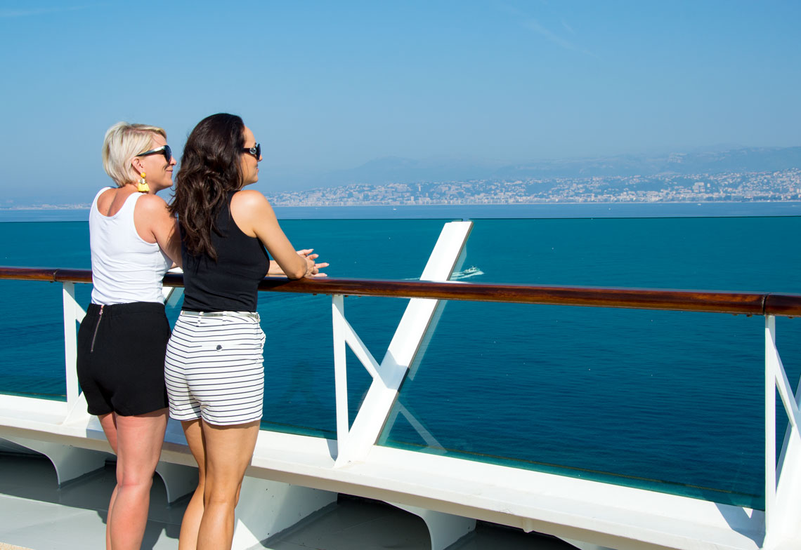 Cruising Along the Mediterranean Coast