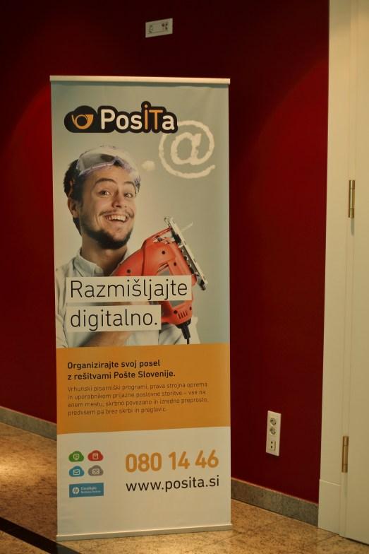 Slovenian Post office sponsor @ OCWC 2014