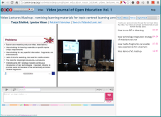 Interface for Video Journal