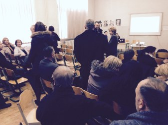 Attendees @ Ministry of Education and Science, Canton Sarajevo, Bosnia-Hercegovina.