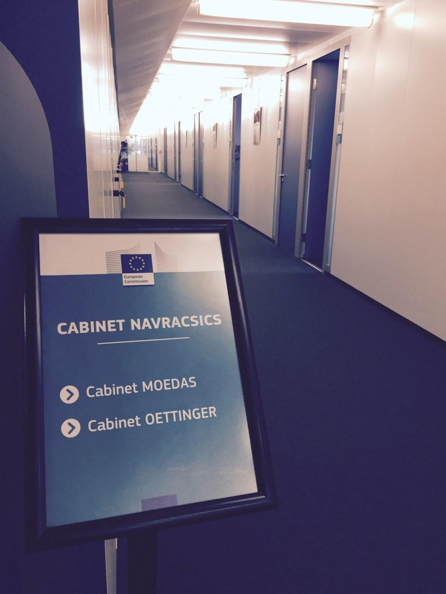 Obisk pri Evropskem komisarju za izobraževanje Tiboru Navracsicsu