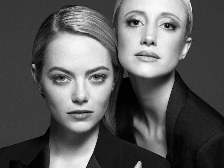 Emma Stone Andrea Riseborough  Billie Jean King on Tennis Equality  the Battle of the Sexes
